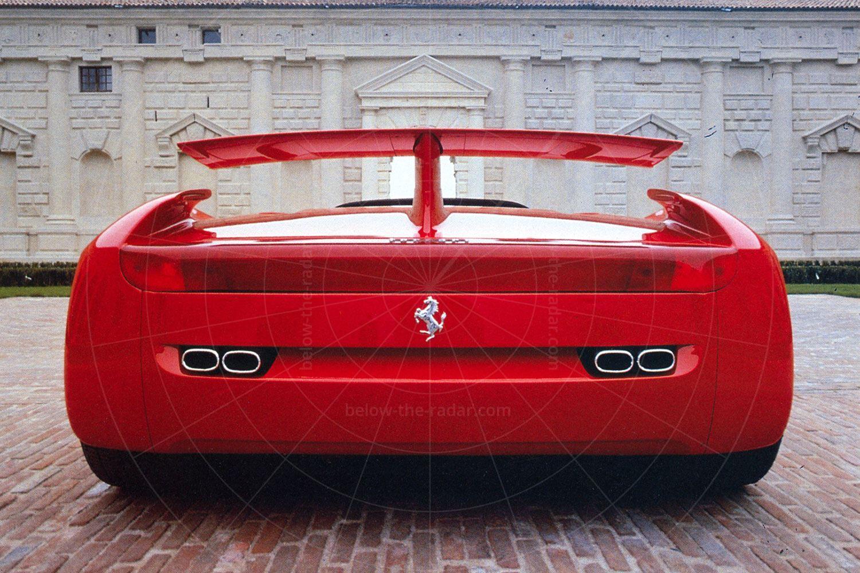Pininfarina Mythos - rear view Pic: magiccarpics.co.uk | Pininfarina Mythos - rear view