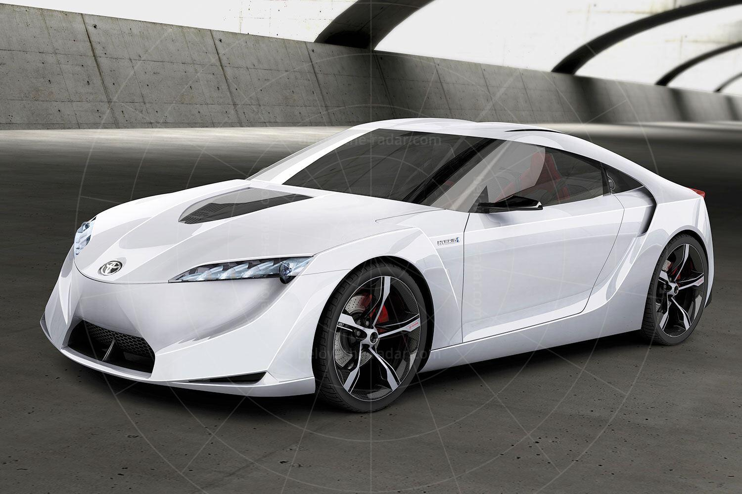 Toyota FT-HS concept Pic: Toyota   Toyota FT-HS concept