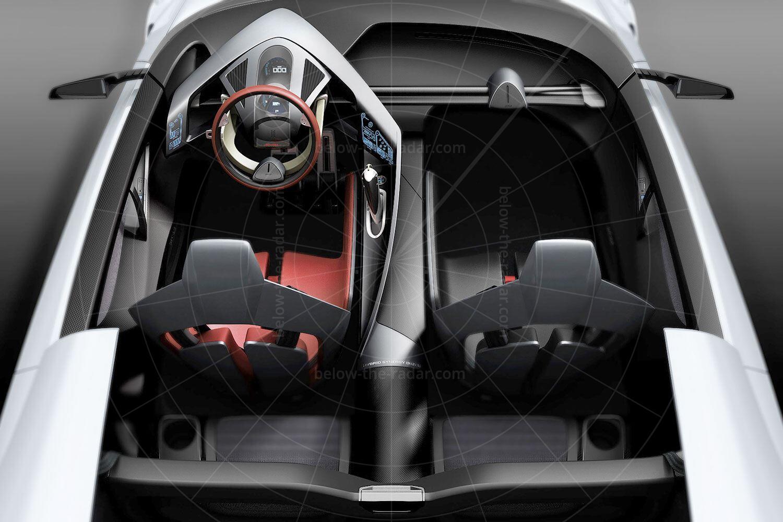 Toyota FT-HS concept interior Pic: Toyota   Toyota FT-HS concept interior