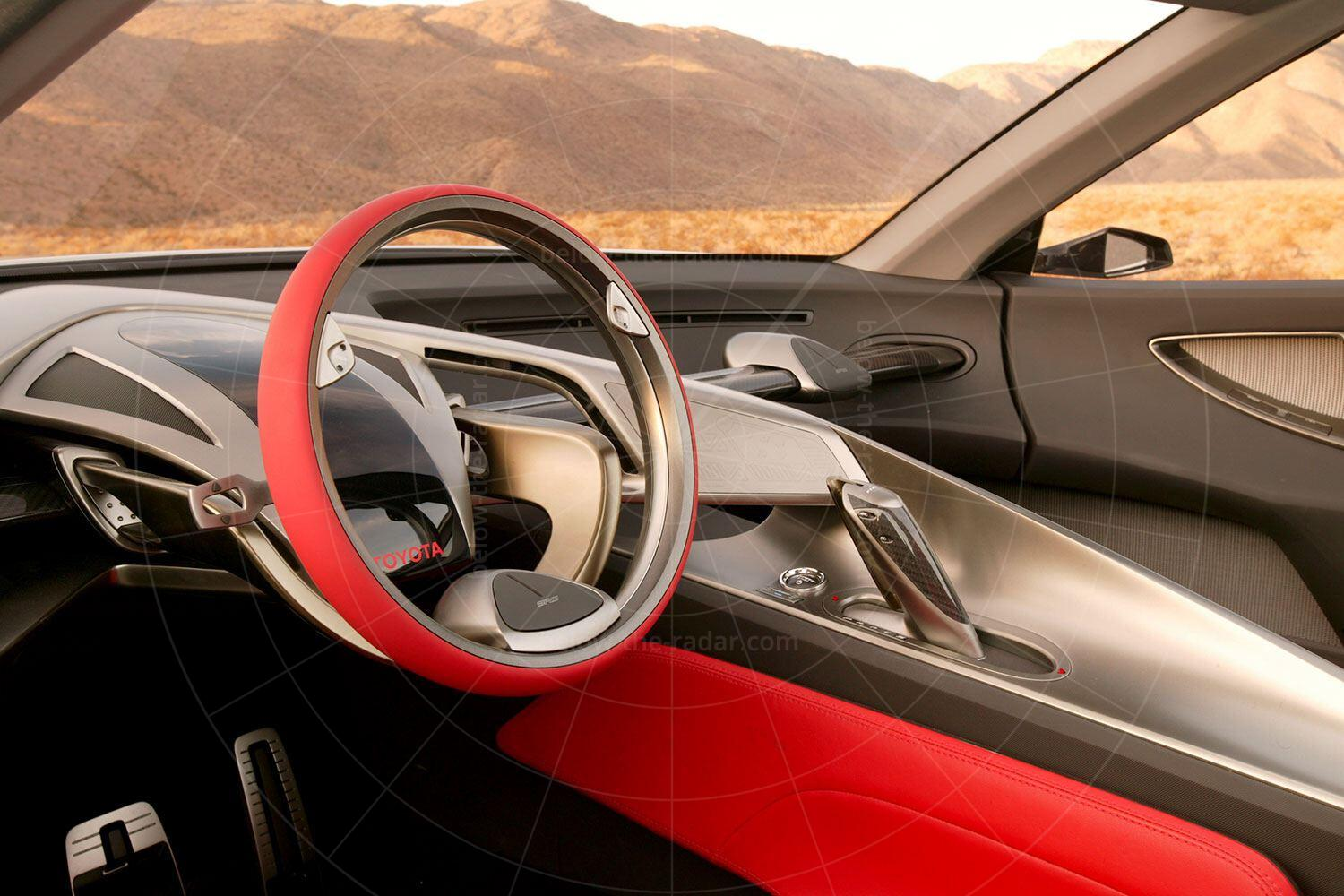 Toyota FT-HS concept dashboard Pic: Toyota | Toyota FT-HS concept dashboard