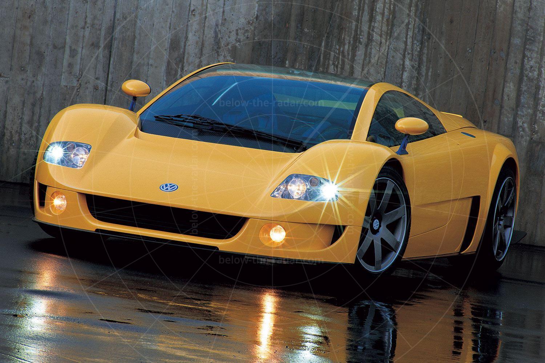 1997 Volkswagen W12 coupé Pic: Volkswagen | 1997 Volkswagen W12 coupé