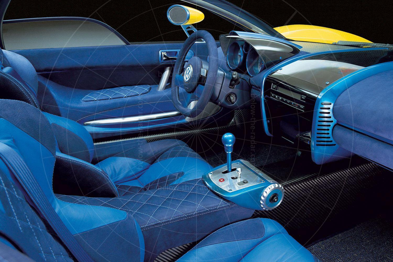 1997 Volkswagen W12 coupé interior Pic: Volkswagen | 1997 Volkswagen W12 coupé interior