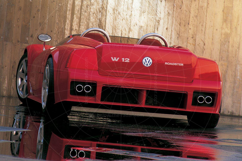 1998 Volkswagen W12 roadster Pic: Volkswagen | 1998 Volkswagen W12 roadster