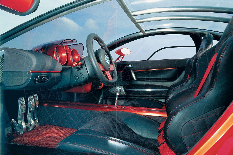 2001 Volkswagen W12 coupé interior Pic: Volkswagen | 2001 Volkswagen W12 coupé interior