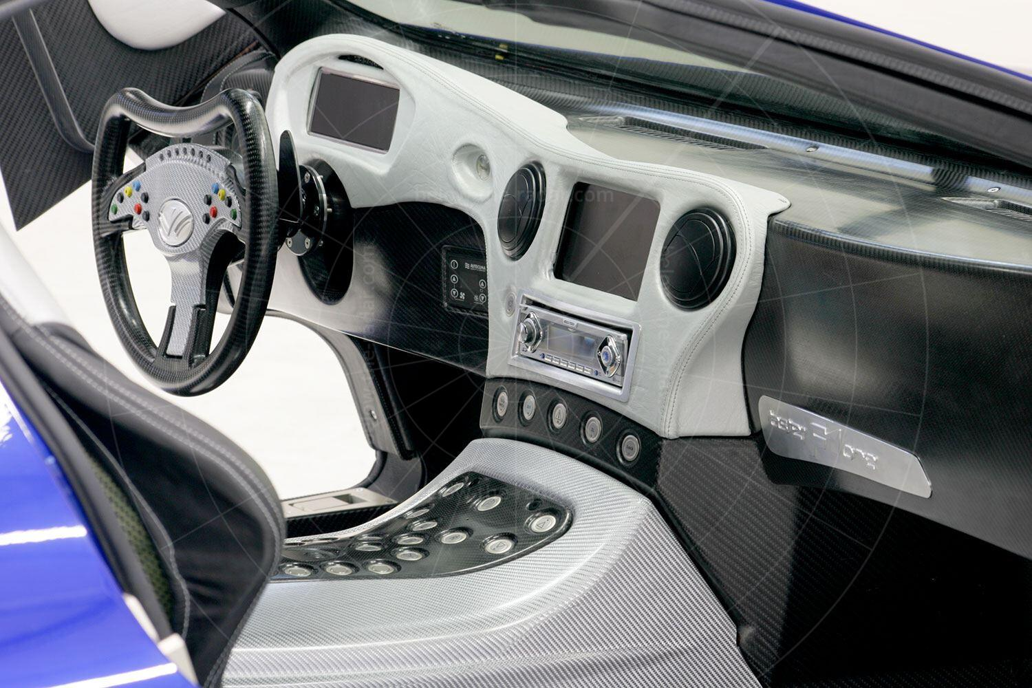 Weber Faster One prototype dashboard Pic: Weber Sportcar | Weber Faster One prototype dashboard