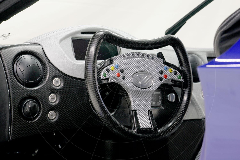 Weber Faster One prototype steering wheel Pic: Weber Sportcar | Weber Faster One prototype steering wheel