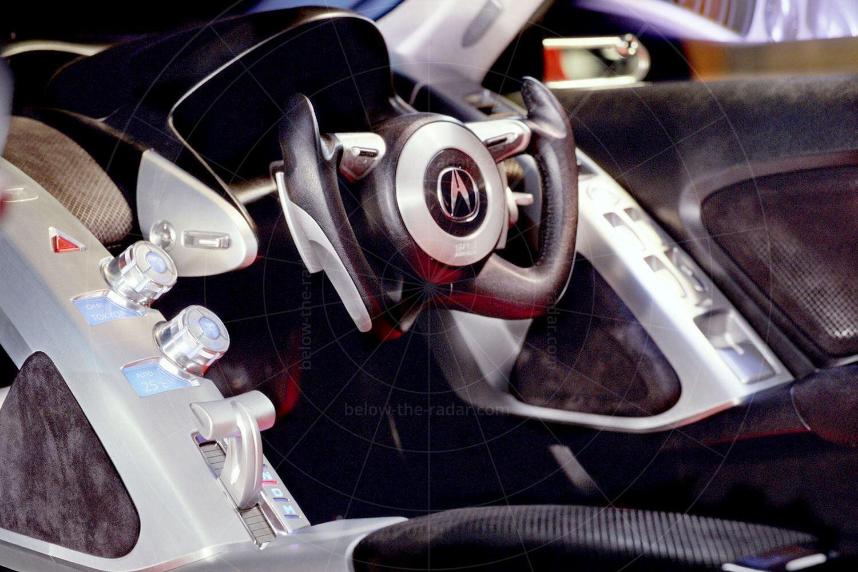Acura DN-X concept dashboard Pic: Acura   Acura DN-X concept dashboard