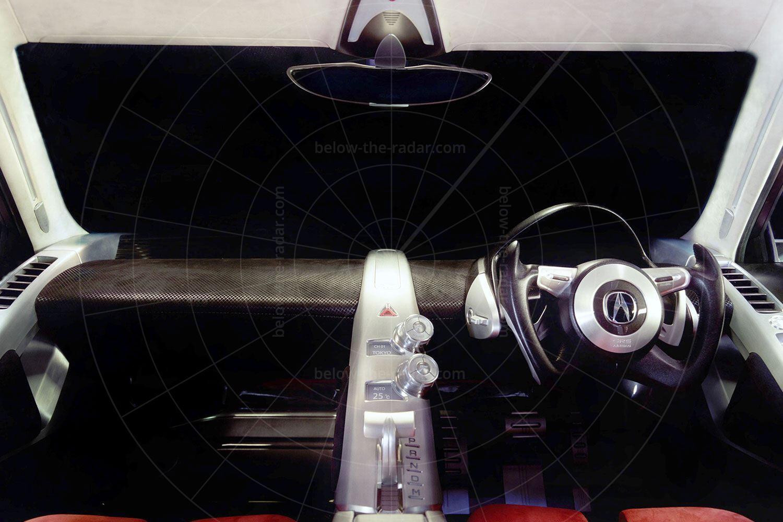 Acura DN-X concept interior Pic: Acura   Acura DN-X concept interior