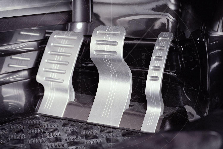 Acura DN-X concept - pedal box Pic: Acura   Acura DN-X concept - pedal box