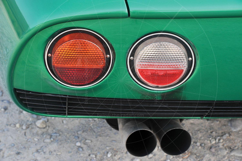 Bizzarrini GT Strada rear lights Pic: RM Sotheby's   Bizzarrini GT Strada rear lights