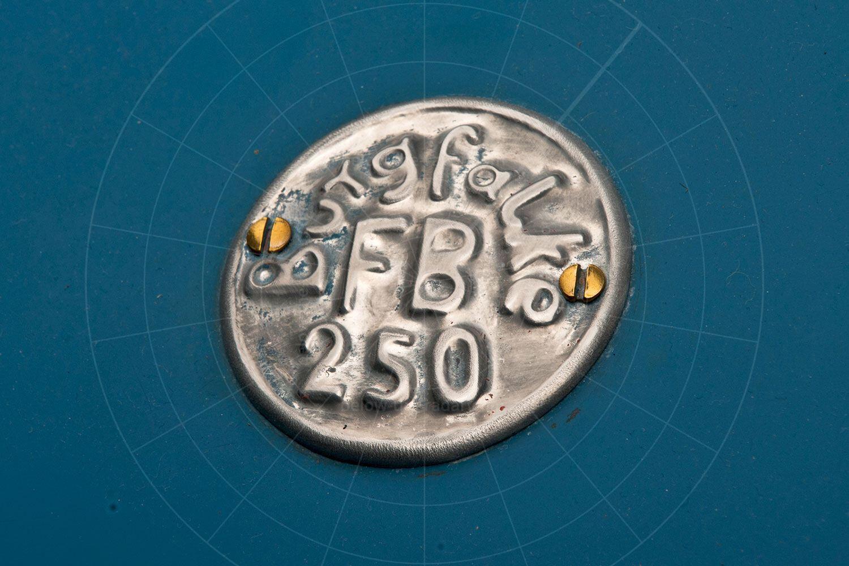 Burgfalke FB250 badge Pic: RM Sotheby's | Burgfalke FB250 badge