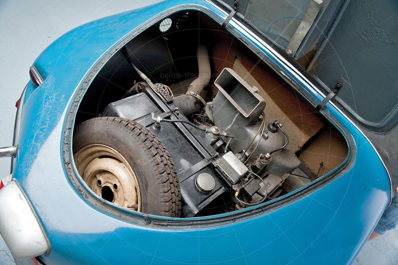 Burgfalke FB250 engine bay Pic: RM Sotheby's | Burgfalke FB250 engine bay