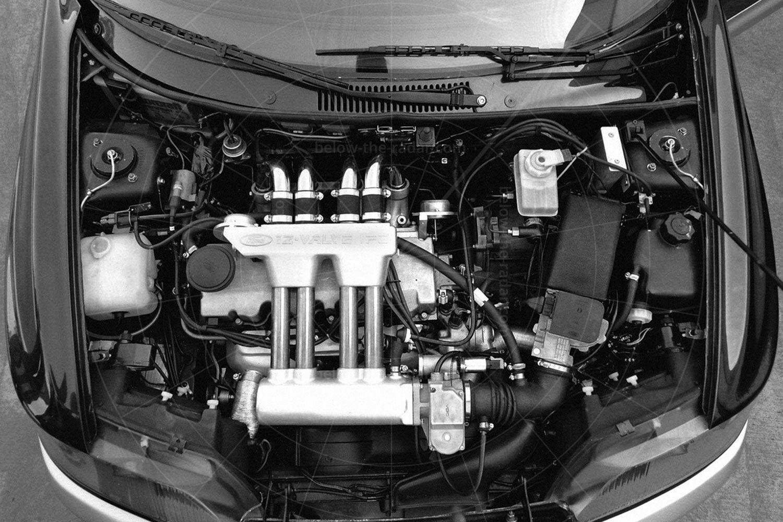 Ford Eltec engine bay Pic: Ford   Ford Eltec engine bay