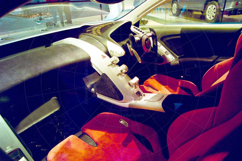 Honda Dualnote concept interior Pic: Honda   Honda Dualnote concept interior