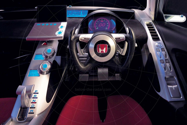 Honda Dualnote concept dashboard Pic: Honda   Honda Dualnote concept dashboard