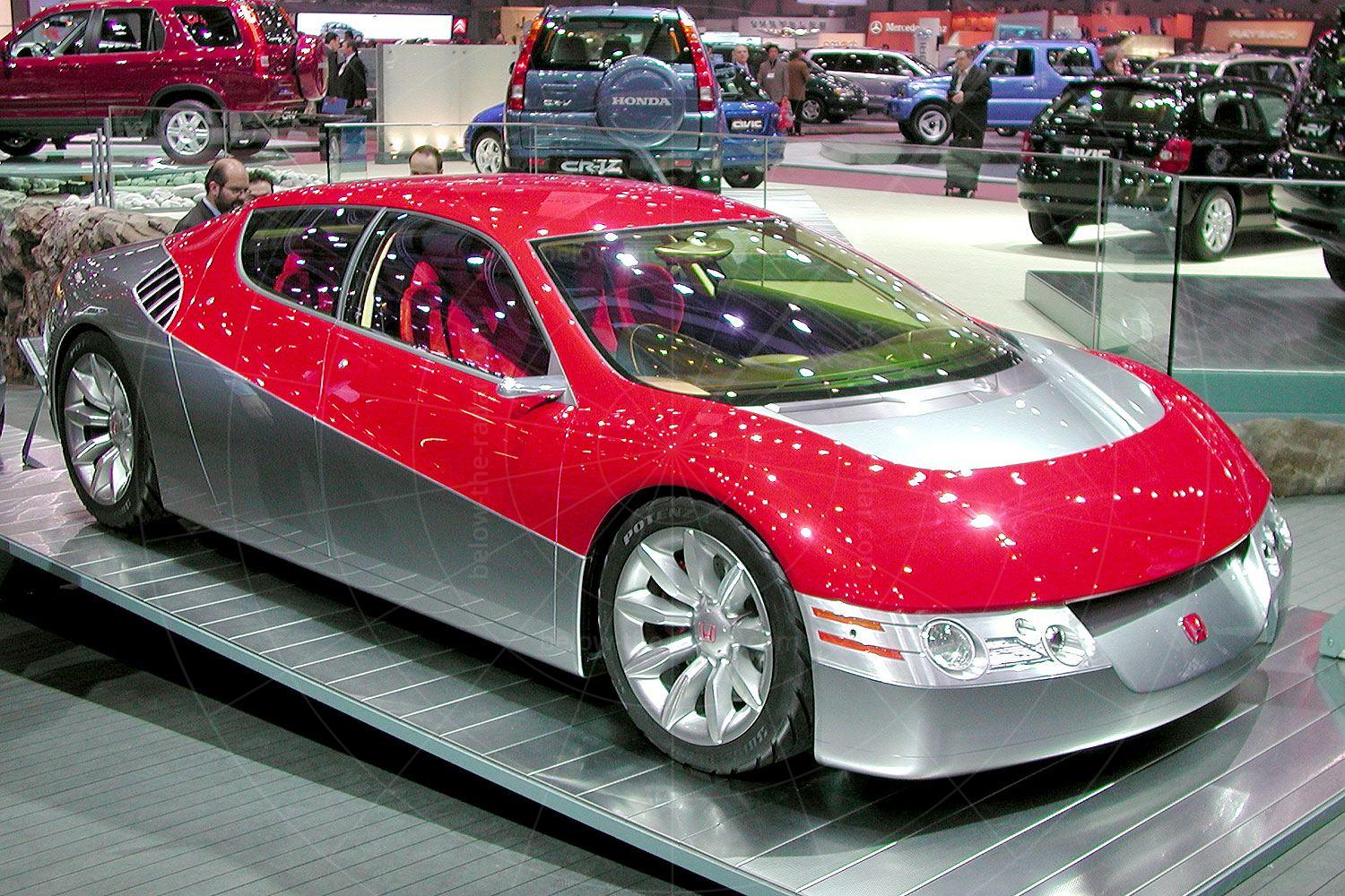 Honda Dualnote concept at the 2002 Geneva Salon