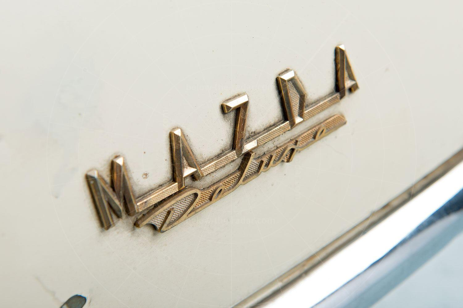 Mazda R360 badge Pic: RM Sotheby's | Mazda R360 badge