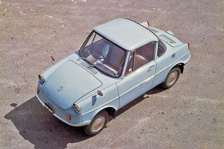 Mazda R360 publicity shot