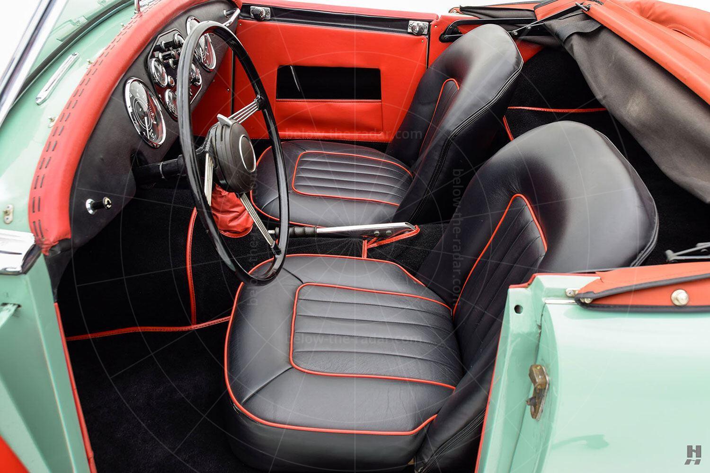 Swallow Doretti interior Pic: Hyman Ltd   Swallow Doretti interior