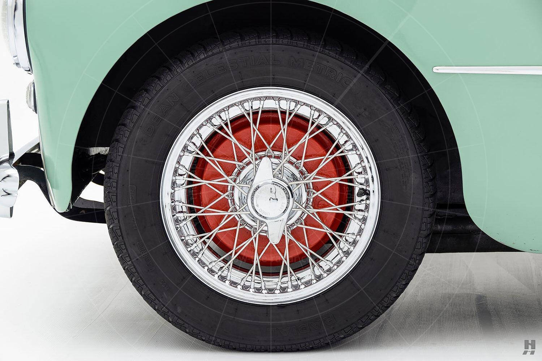 Swallow Doretti wire wheel Pic: Hyman Ltd   Swallow Doretti wire wheel