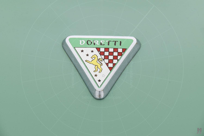 Swallow Doretti badge Pic: Hyman Ltd   Swallow Doretti badge