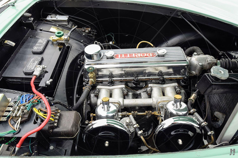 Swallow Doretti engine bay Pic: Hyman Ltd   Swallow Doretti engine bay