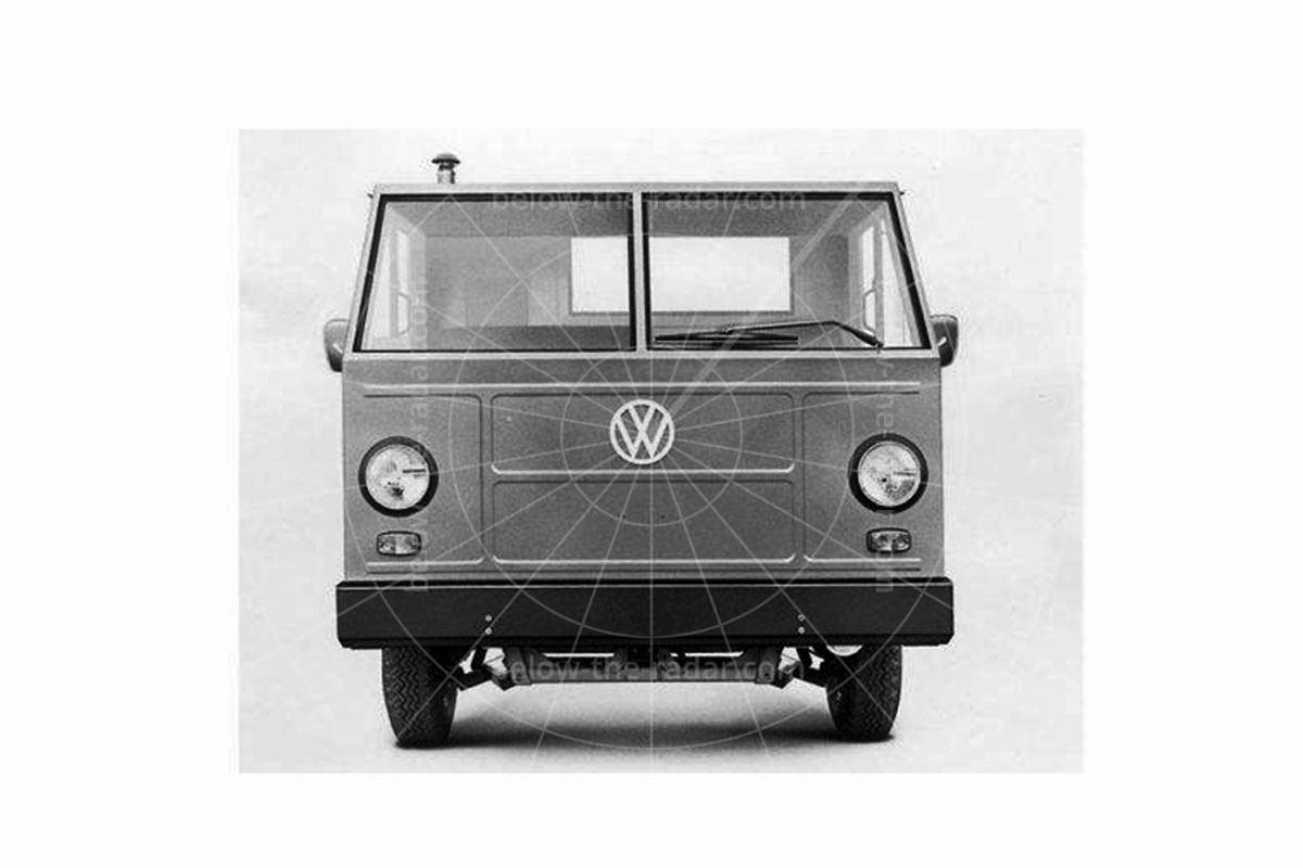 The Mexican Hormiga; 'indefatigable economic freight transport' according to Volkswagen