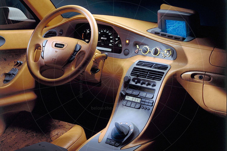 Volvo ECC concept dashboard Pic: Volvo | Volvo ECC concept dashboard