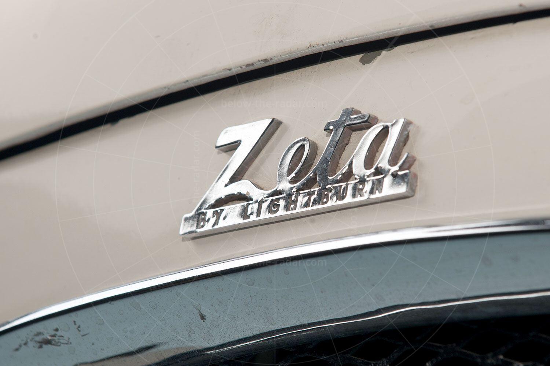 Lightburn Zeta Runabout badge Pic: RM Sotheby's | Lightburn Zeta Runabout badge