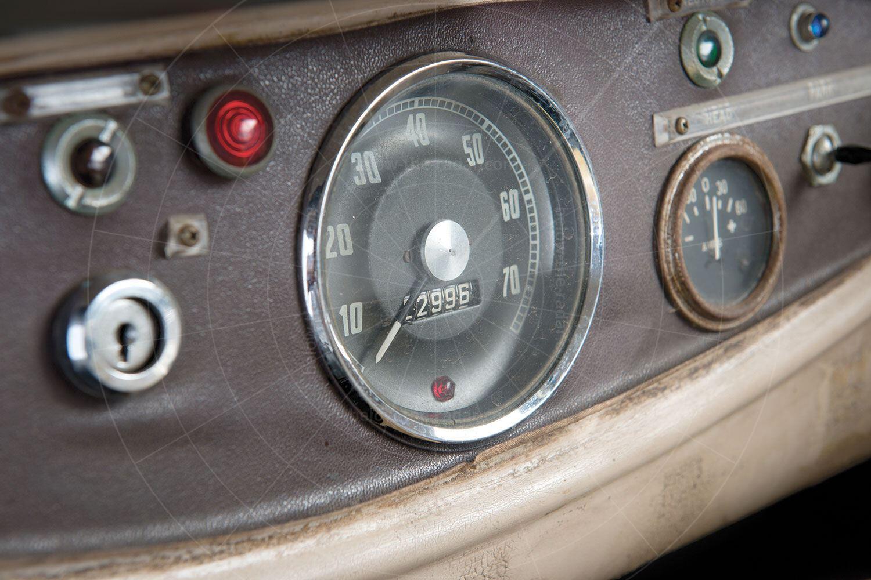 Lightburn Zeta Runabout dashboard Pic: RM Sotheby's | Lightburn Zeta Runabout dashboard