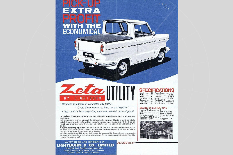 Lightburn Zeta utility brochure Pic: magiccarpics.co.uk | Lightburn Zeta utility brochure
