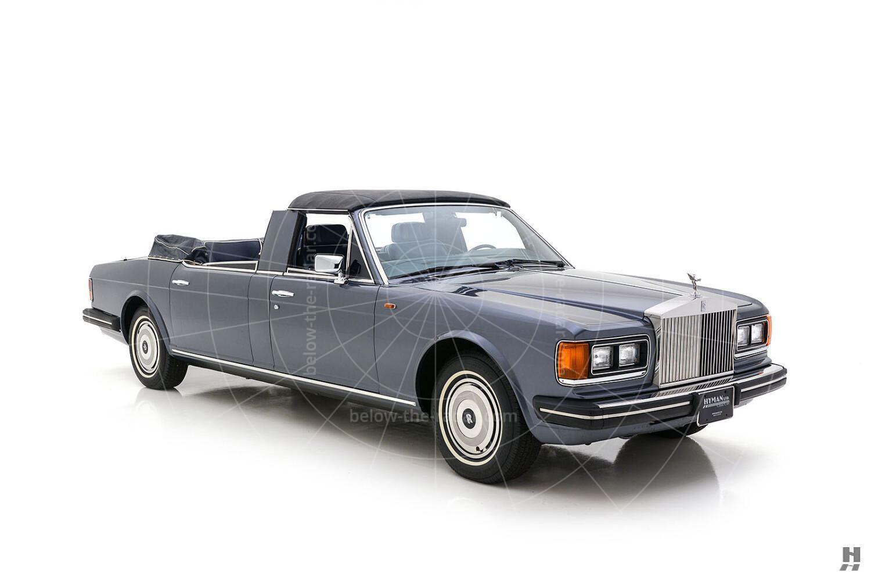 Rolls-Royce Silver Spur landaulette by Autoconstruzione S.D. Torino