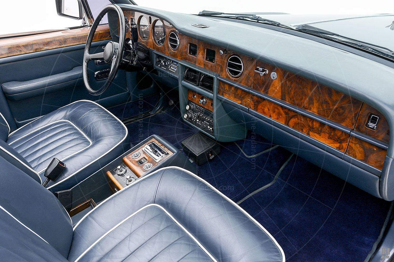 Silver Spur landaulette interior Pic: Hyman Ltd | Silver Spur landaulette interior