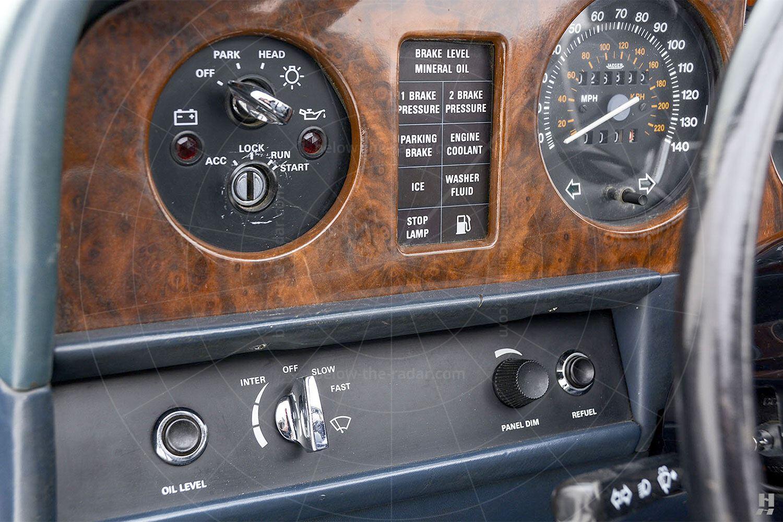 Silver Spur landaulette dashboard Pic: Hyman Ltd | Silver Spur landaulette dashboard