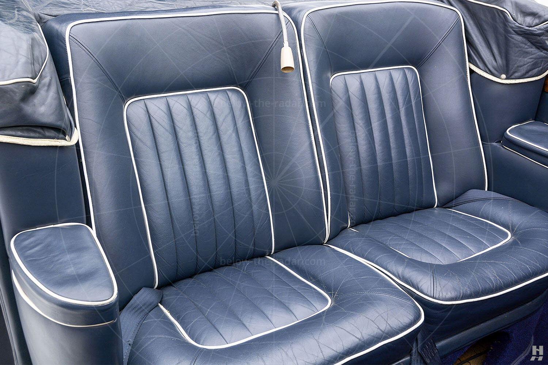 Silver Spur landaulette rear seats Pic: Hyman Ltd | Silver Spur landaulette rear seats