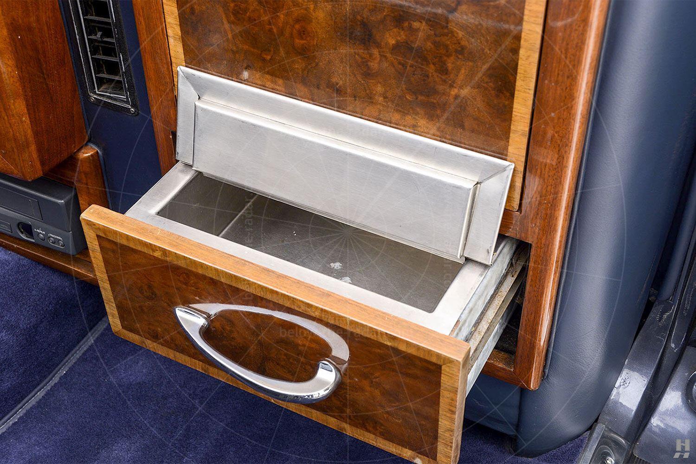 Silver Spur landaulette rear compartment Pic: Hyman Ltd | Silver Spur landaulette rear compartment