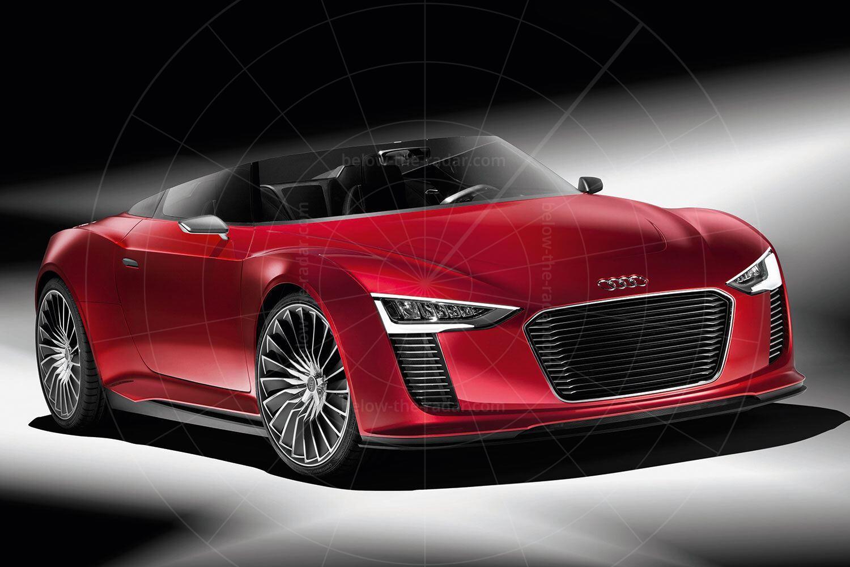 Audi e-tron Spyder Pic: Audi | Audi e-tron Spyder