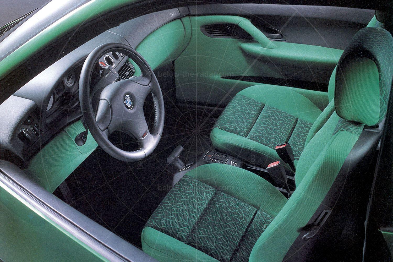 BMW E1 Mk2 interior Pic: BMW | BMW E1 Mk2 interior