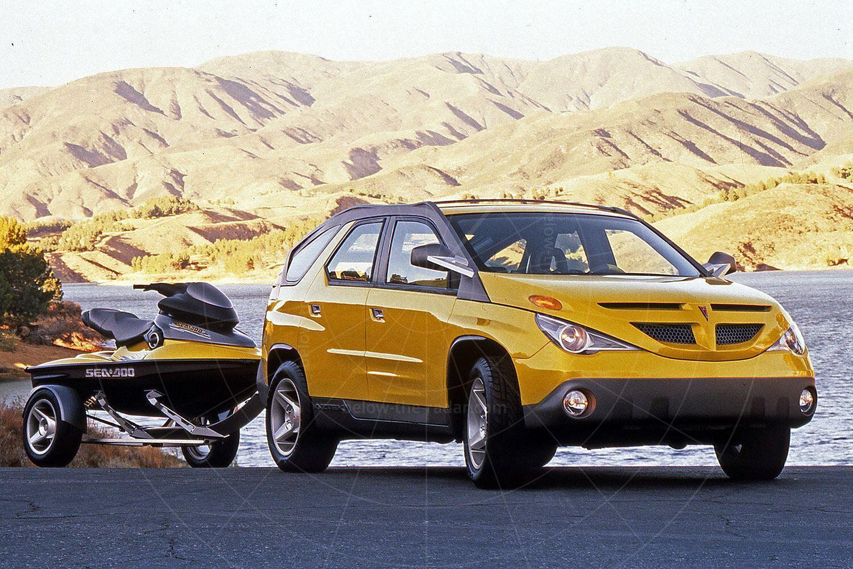 Pontiac Aztek concept Pic: General Motors | Pontiac Aztek concept
