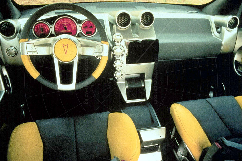 Pontiac Aztek concept - dashboard Pic: General Motors | Pontiac Aztek concept - dashboard