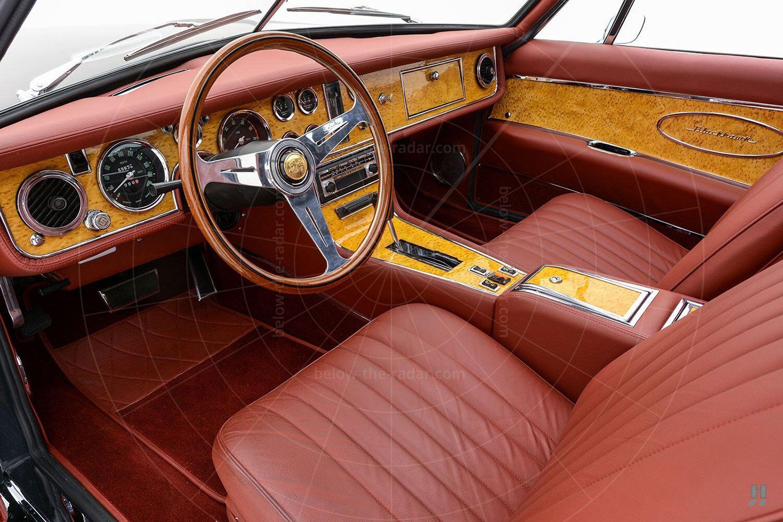 1971 Stutz Blackhawk coupé interior Pic: Hyman Ltd | 1971 Stutz Blackhawk coupé interior