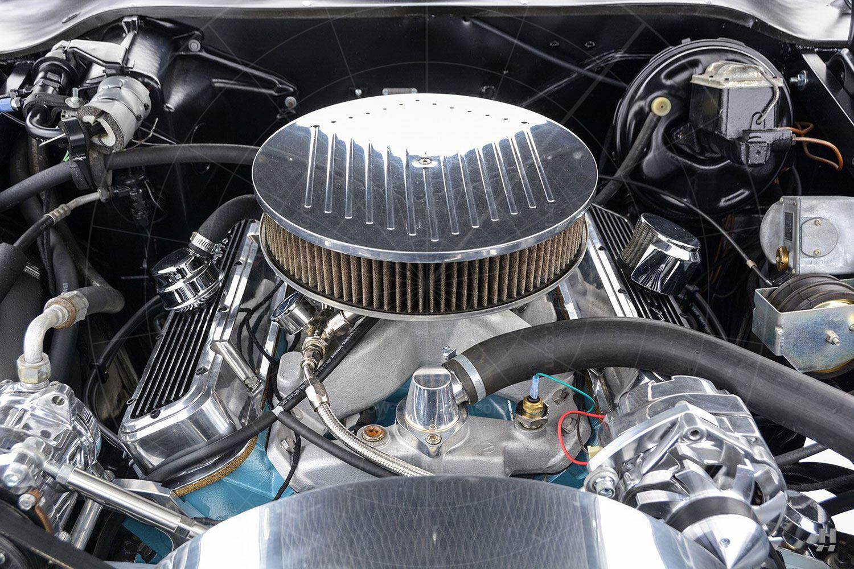 1971 Stutz Blackhawk coupé engine bay Pic: Hyman Ltd | 1971 Stutz Blackhawk coupé engine bay