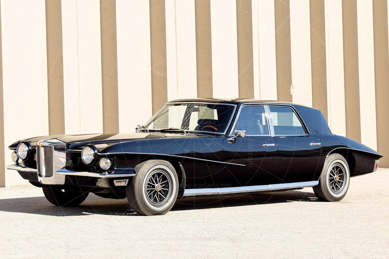 1971 Stutz Blackhawk sedan Pic: RM Sotheby's | 1971 Stutz Blackhawk sedan